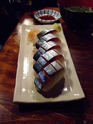 070530魚や07(鯖寿司)