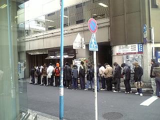 麺屋武蔵の行列