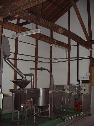 12古い洗米機