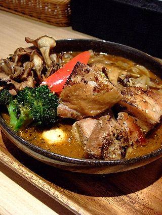 ガラク角煮カレー01