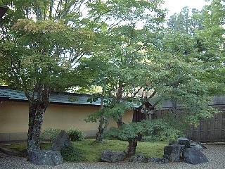 天徳院前庭