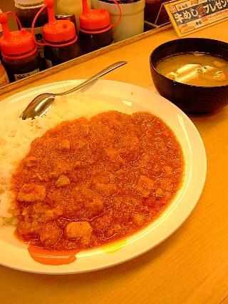 松屋フレッシュトマトカレー01