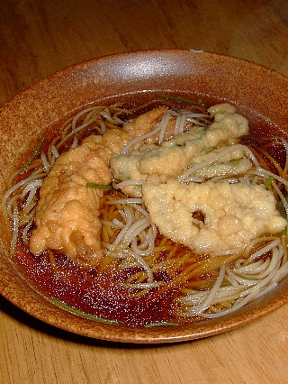 永坂更科の蕎麦