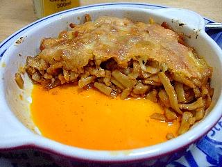 蕎麦ラザニャ03