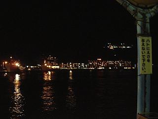 夜のホテル浦島