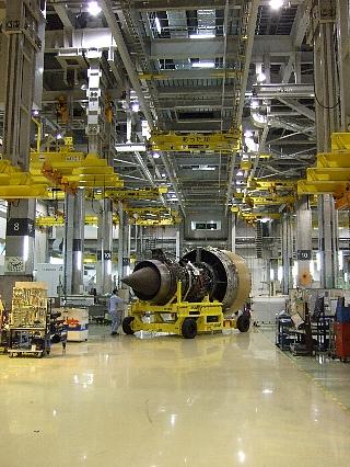 ANAエンジン整備工場見学26