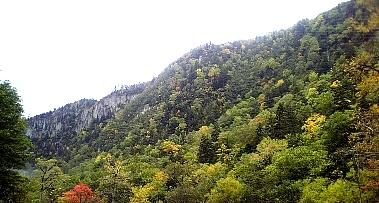 層雲峡紅葉
