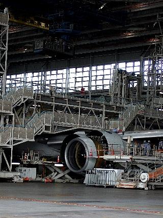 ANA機体整備工場見学16re