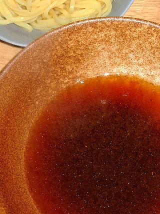 つけ麺実験04(乾麺の付け汁)