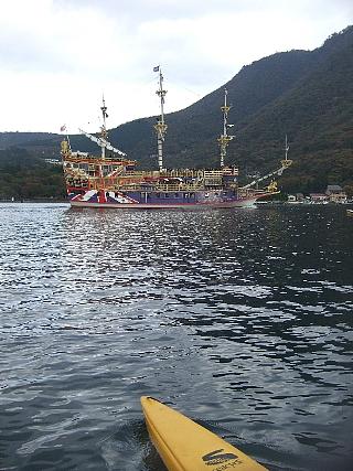 09シーサイクル海賊船へ