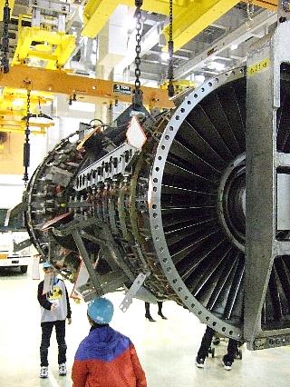 ANAエンジン整備工場見学20