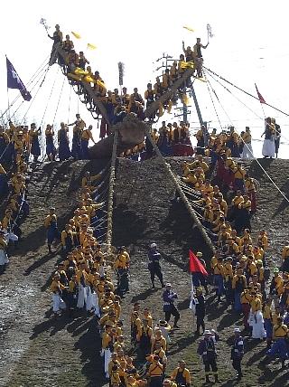 御柱祭り14