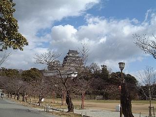 姫路城(遠景)