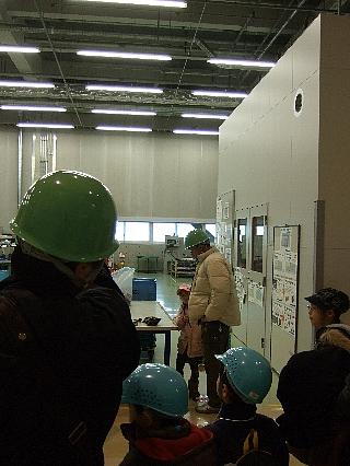 ANAエンジン整備工場見学02