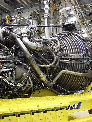 ANAエンジン整備工場見学16