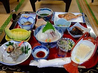 飛島夕食00