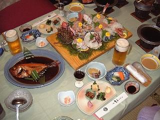 聚楽の夕食01