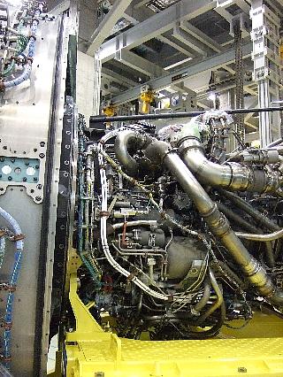 ANAエンジン整備工場見学15