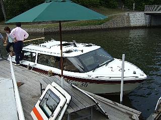 大沼観光ボート01