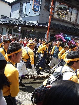 御柱祭り32