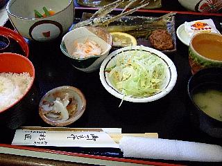 杉匠昼食02