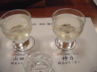 水色(山田穂と神力)