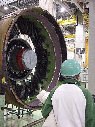 ANAエンジン整備工場見学11