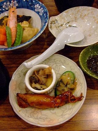 奥尻緑館夕食1日目05a