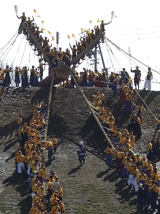 御柱祭り15