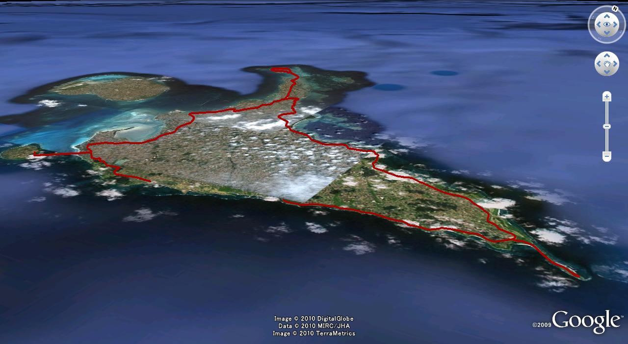 宮古島ワイドーマラソン100km