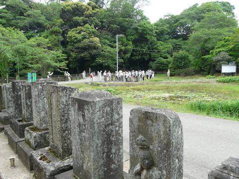 ⑦-2石造物(結縁寺)