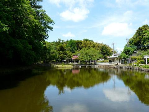 ⑦-1溜め池(結縁寺 )