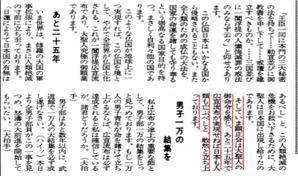 昭和58年4月25日号 男子部会「あと25年」