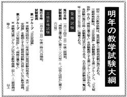 62/12/5 教学試験要綱