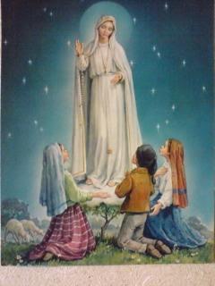 マリアと3人の子供たち