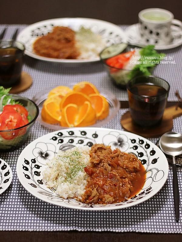 【レシピ】焼きそばソースでハヤシライス。