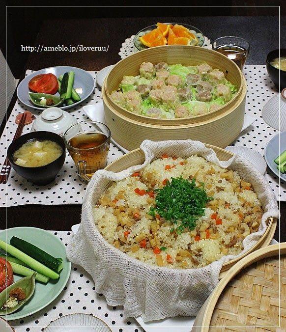 【レシピ】得手、不得手。~筍と挽き肉の中華おこわ~