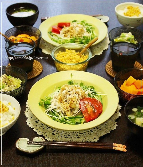 宮崎かメキシコか。~キャベツとクリームチーズのサラダ~