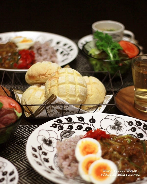 【レシピ】断捨離。~牛肉と長ネギの和風カレー~