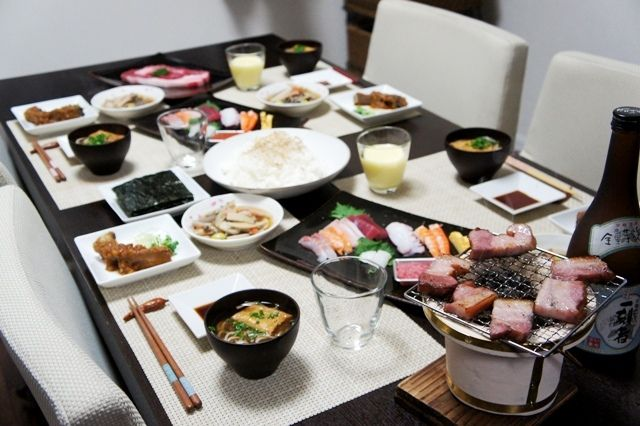 よいお年を~2010大晦日♪スペシャルご飯~