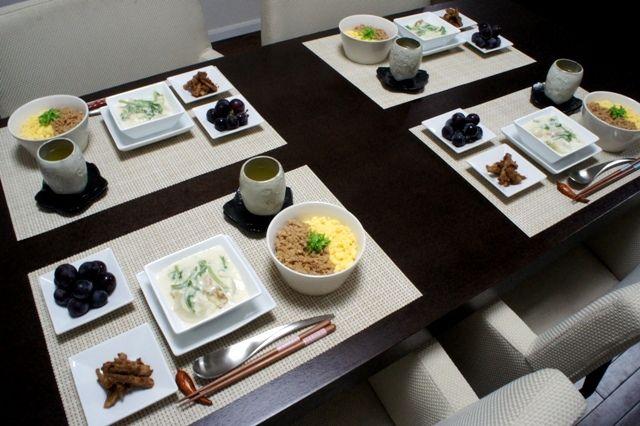 一石三鳥~しっとり鶏そぼろdon&ごぼうの韓国胡麻和え&かぶのクリーム煮~