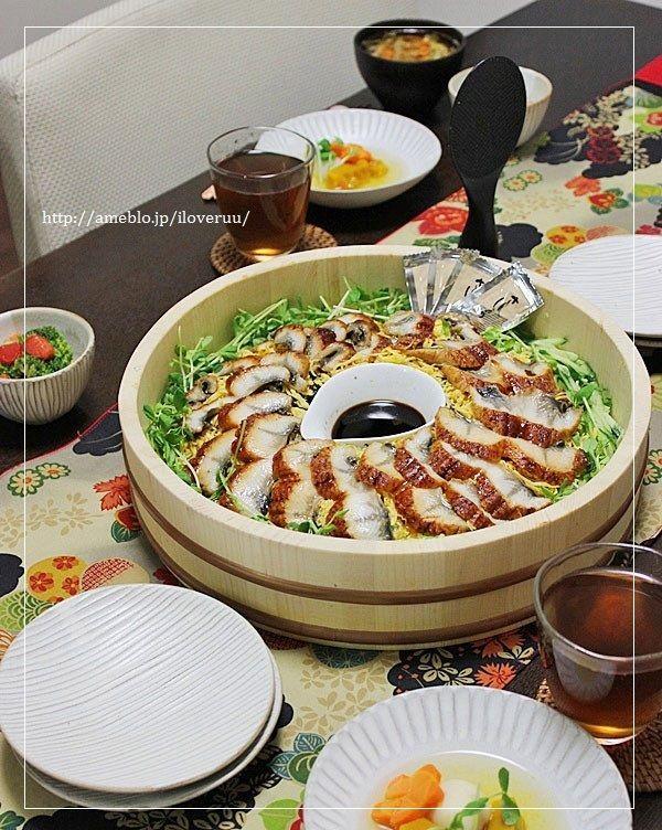 【レシピ】今日という一日について。~鰻のちらし寿司~