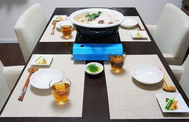 おかめ方程式~ラーメンスープde塩ちゃんこ鍋~