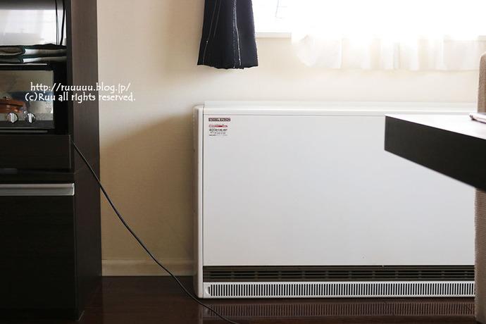 【日記】蓄熱暖房機の威力とおめでとう3歳!