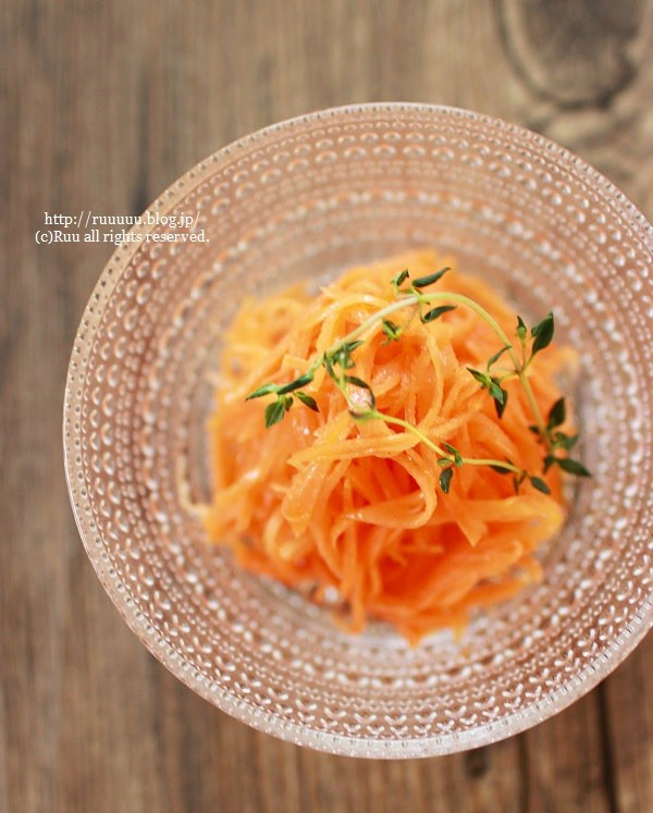 【レシピ】アレンジ無限大♡基本のキャロットラペ