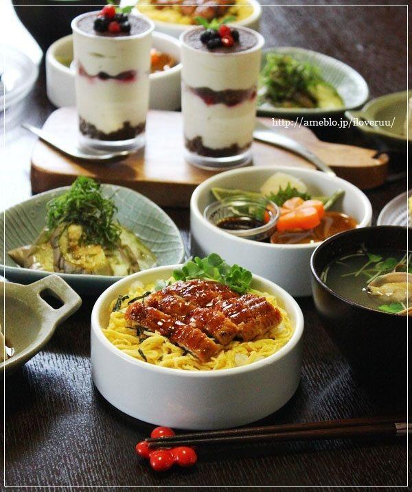 【レシピ】土用の丑の日。~うなぎのちらし寿司@一人盛り~