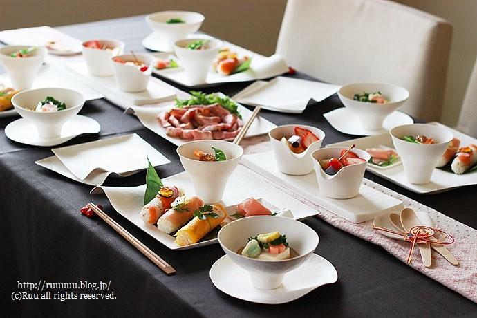 【レシピ】お寿司スティックおにぎり3種とデコスティックおにぎり2羽。