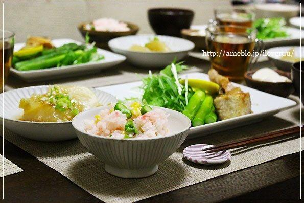 【レシピ】素敵な銀行物語。~アスパラとコーンの春色ご飯~