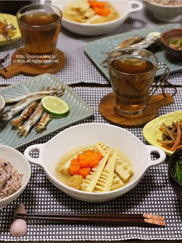【レシピ】筍と栃尾の油揚げの煮物。~あたしと財布の物語~
