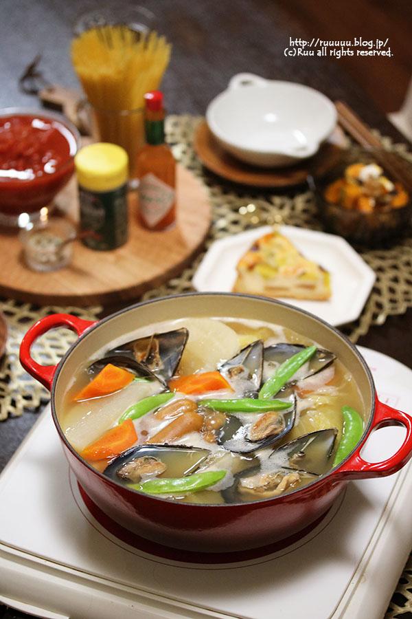 【レシピ】変化するお鍋♡ポトフ鍋。
